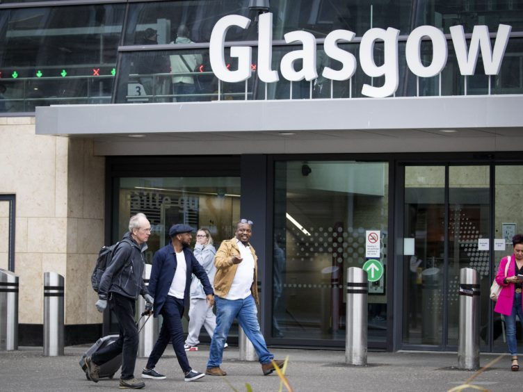 Health Secretary Humza Yousaf could not say when Glasgow, or the 13 local authority areas being held in Level 2 restrictions, would be able to move to Level 1 (Jane Barlow/PA)