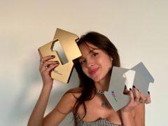 Olivia Rodrigo has scored another double UK charts victory (Official Charts Company)