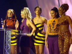 The Spice Girls at the Brit Awards (Neil Munns/PA)
