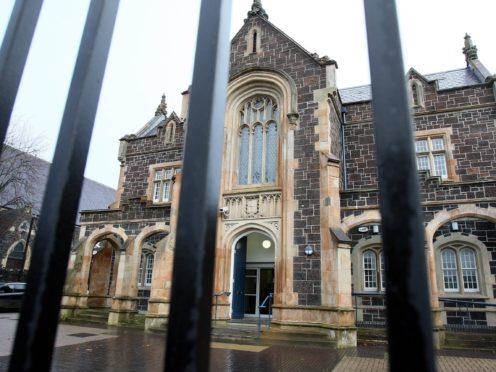 Ballymena Court house, Ballymena Town, Co Antrim (Paul Faith/PA)