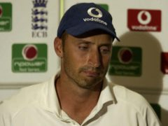 Nasser Hussain resigned as England Test captain in 2003 (Nick Potts/PA)