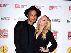 Spice Girl Emma Bunton revealed she has married long-term partner Jade Jones (Ian West/PA)