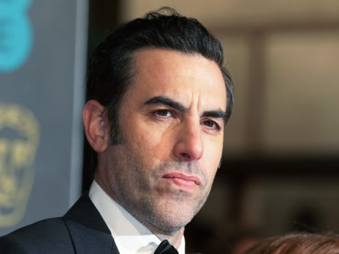 Sacha Baron Cohen has won a legal victory over a US politician who sued him (Yui Mok/PA)