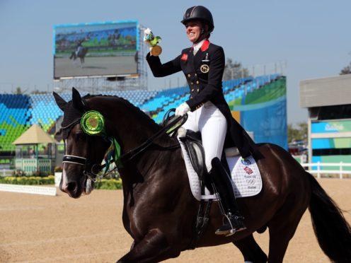 Charlotte Dujardin at the Rio Olympics (David Davies/PA)