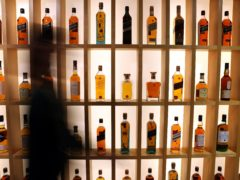 Diageo has enjoyed a jump in sales as drinkers have bought more spirits during the pandemic (Andrew Milligan/PA)