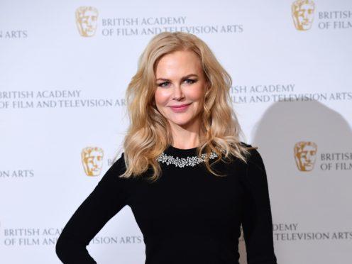 Nicole Kidman has changed her hair into a pixie cut ahead of her new TV series Roar (Ian West/PA)