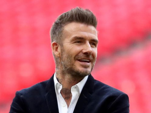 David Beckham will attend Soccer Aid for UNICEF 2021 (Bradley Collyer/PA)