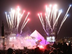 The Killers plays the Pyramid Stage (Aaron Chown/PA)