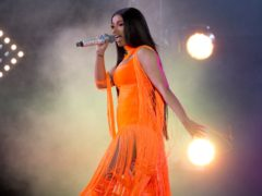 Cardi B has thrown a lavish party for her daughter's third birthday (Isabel Infantes/PA)
