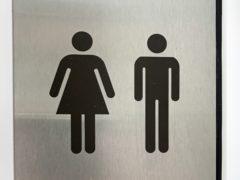 Gender signage (Martin Keene/PA)