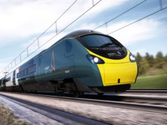 FirstGroup said its UK rail and bus business is recovering from the pandemic (Avanti West Coast/PA)