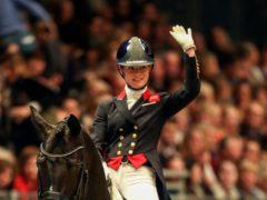 Great Britain dressage rider Charlotte Fry