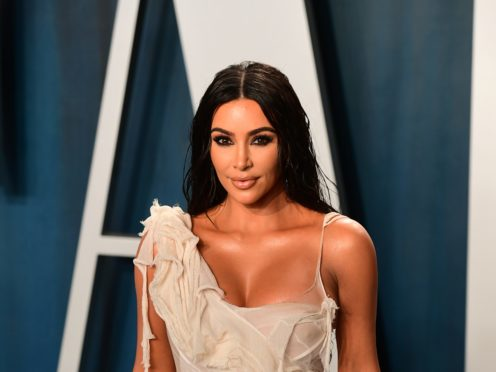 Kim Kardashian West described Kate Moss as 'THE fashion icon' as she unveiled the supermodel as the new face of her shapewear and loungewear line (Ian West/PA)