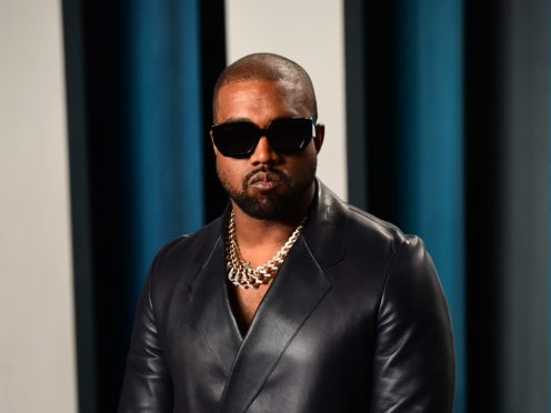Kanye West will host an album listening party amid reports new music from the superstar rapper is imminent (Ian West/PA)