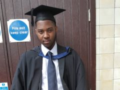 NHS worker and marketing graduate David Gomoh was killed in a knife attack in April last year (Metropolitan Police/PA)