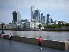 London stocks nudged lower on Monday (Yui Mok/PA)