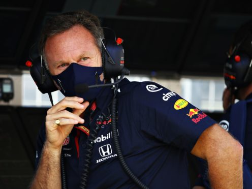 Christian Horner has revealed the accident at Silverstone has cost Red Bull £1.3million in damages (PA).