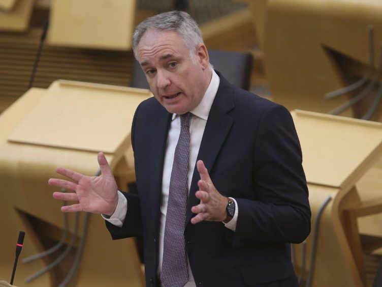 Fair work minister Richard Lochhead welcomed the announcement of the Living Hours Accreditation Scheme (Fraser Bremner/Scottish Daily Mail/PA)