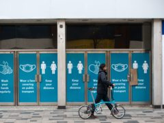 Shop vacancies are increasing, figures show (PA)