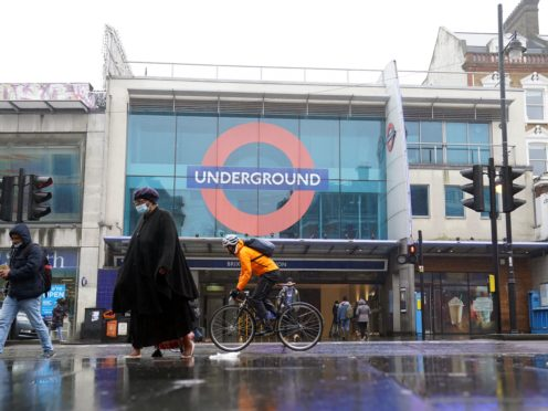 Brixton Underground station (John Walton/PA)