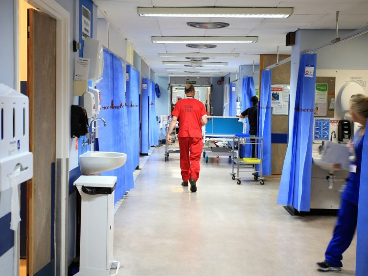 A total of 43 deaths were in a hospital setting (Peter Byrne/PA)