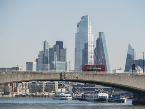 London stocks bounced higher on Wednesday (Ian West/PA)
