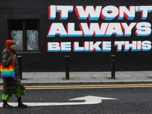 Irish rock band Inhaler may take the number one chart position with debut album It Won't Always Be Like This (Brian Lawless/PA)