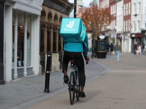 Deliveroo is to stop operating in Spain (David Davies/PA)