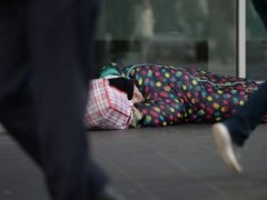 The Government pledged to end rough sleeping in its 2019 manifesto (Nick Ansell/PA)