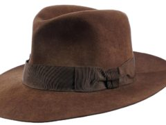A fedora worn by Harrison Ford in Indiana Jones And The Temple Of Doom has sold at auction for 375,000 dollars (£271,000) (The Prop Store/PA)
