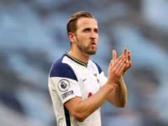 Harry Kane has been linked with a move to Manchester City (Richard Heathcote/PA)