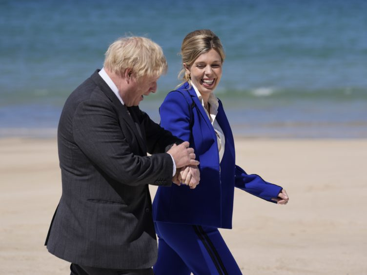 Prime Minister Boris Johnson and his wife Carrie have announced they are expecting a second child (Kirsty Wigglesworth/PA)