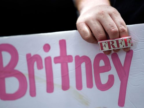 Britney Spears's court-appointed lawyer has offered his resignation as the fallout from the pop superstar's dramatic testimony continues (AP Photo/Chris Pizzello)