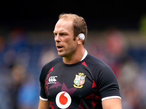 Alun Wyn Jones has reminded his players they have a Test series to win (Andrew Milligan/PA)