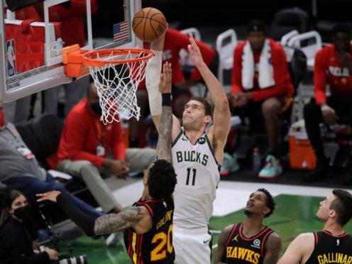 Milwaukee Bucks' Brook Lopez (Aaron Gash/AP)