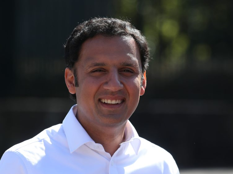 Scottish Labour leader Anas Sarwar joined shadow chancellor Rachel Reeves for a visit to Renfrewshire on Thursday (Andrew Milligan/PA)