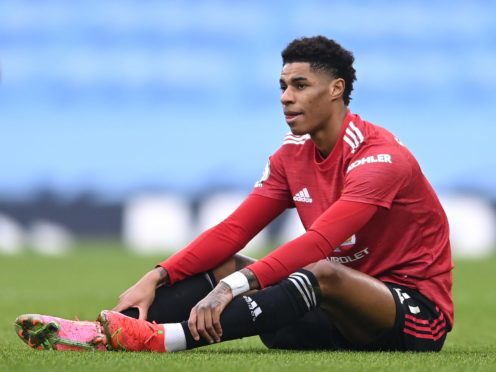 Manchester United have yet to decide over shoulder surgery for Marcus Rashford (Laurence Griffiths/PA)