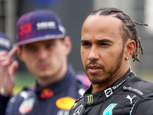 Red Bull have requested an official review into Lewis Hamilton's penalty following his crash with Max Verstappen (Tim Goode/PA)