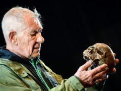 Sir Ian McKellen's long-awaited return as Hamlet has attracted rave reviews (Ian West/PA)