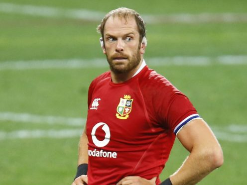 Alun Wyn Jones has told South Africa that the Lions can go up another level (Steve Haag/PA)