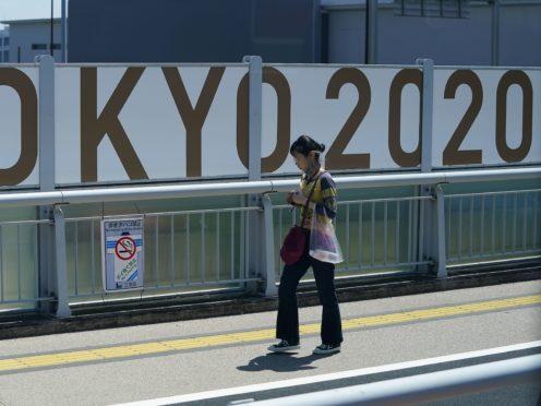 Tokyo 2020 signage (Mike Egerton/PA)