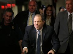 Harvey Weinstein has been booked into a Los Angeles jail ahead of a court appearance, records show (AP Photo/Seth Wenig, File)