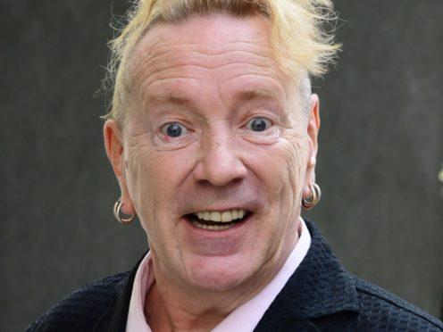 John Lydon, aka Johnny Rotten, arrives at the Rolls Building in London (Ian West/PA)