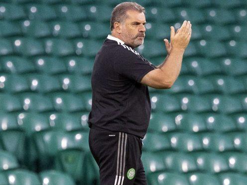 Celtic manager Ange Postecoglou enjoyed Champions League reception (Jeff Holmes/PA)
