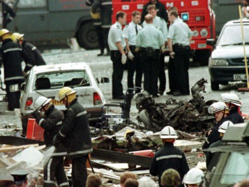 The Omagh bombing was the worst single atrocity of the conflict in Northern Ireland (PA)