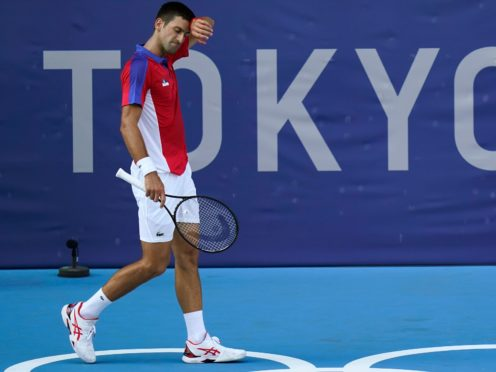 Novak Djokovic's dreams of Olympic gold in Tokyo are over (Seth Wenig/AP)