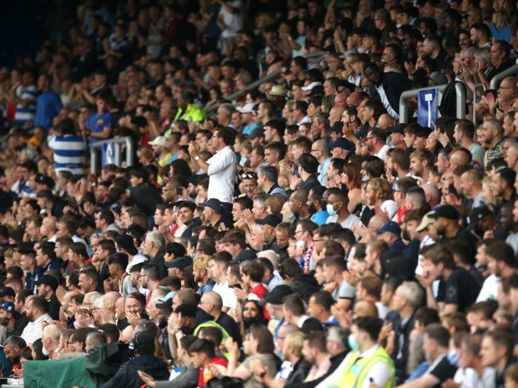 Queens Park Rangers fans (Steven Paston/PA)