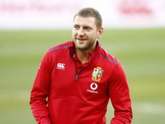 Finn Russell is close to a comeback for Lions after suffering an Achilles injury (Steve Haag/PA)