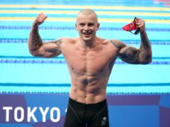 Great Britain's gold medal swimmer Adam Peaty trained at Loughborough (PA)
