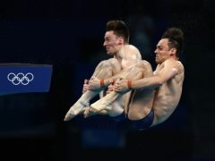 Tom Daley and Matty Lee won gold in Tokyo (Adam Davy/PA)